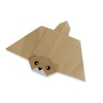 белка летяга оригами
