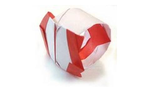 кольцо оригами