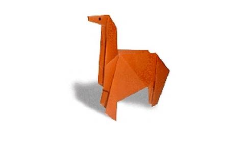 лошадь оригами