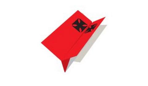 планер оригами