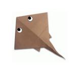 скат оригами