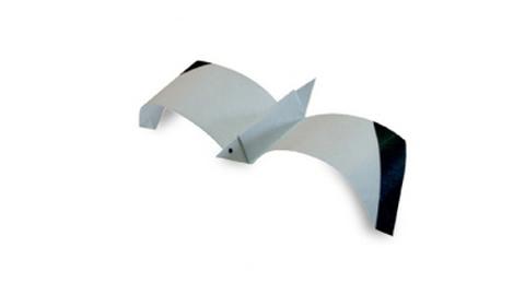Как сделать чайку оригами?