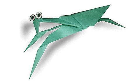 богомол оригами