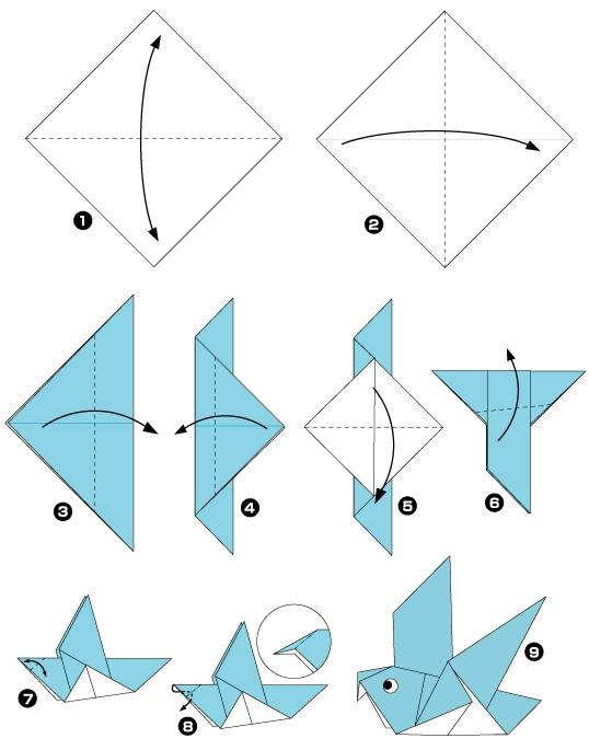 Модульное оригами  схемы оригами  Из Бумаги
