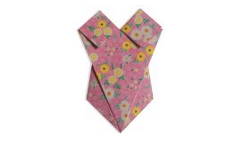 купальник оригами