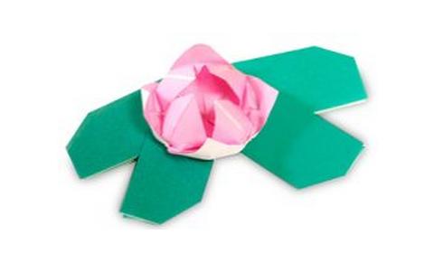 лотос оригами