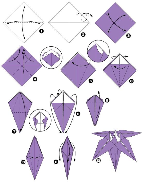 орхидея оригами1ч