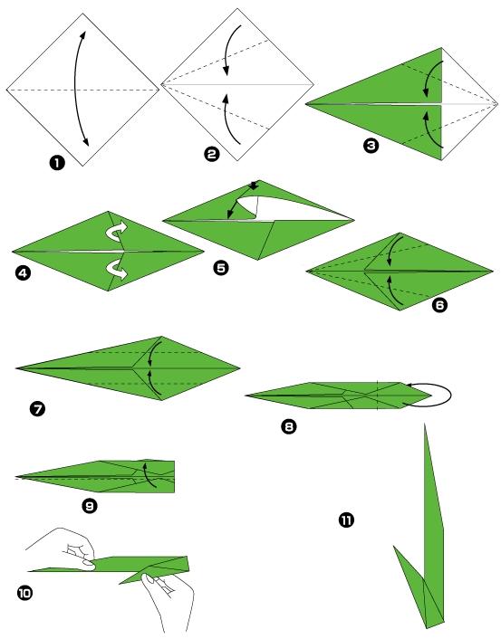 орхидея оригами2ч