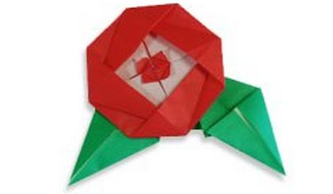 пион оригами