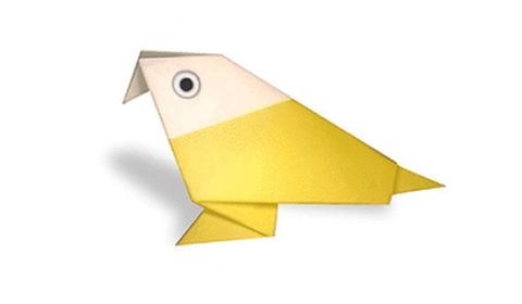 Как сделать попугая оригами?