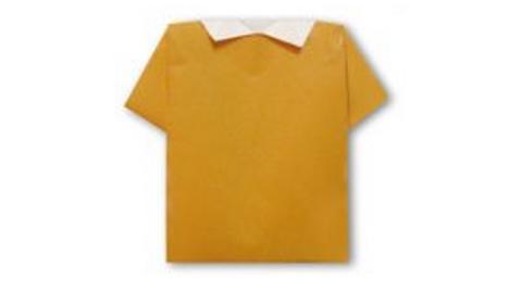 рубашка оригами