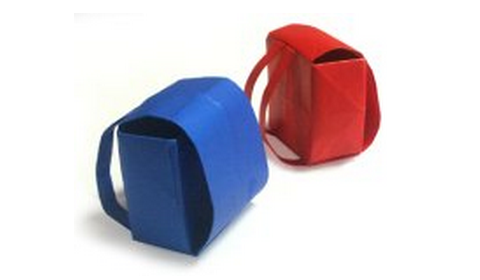 рюкзак оригами