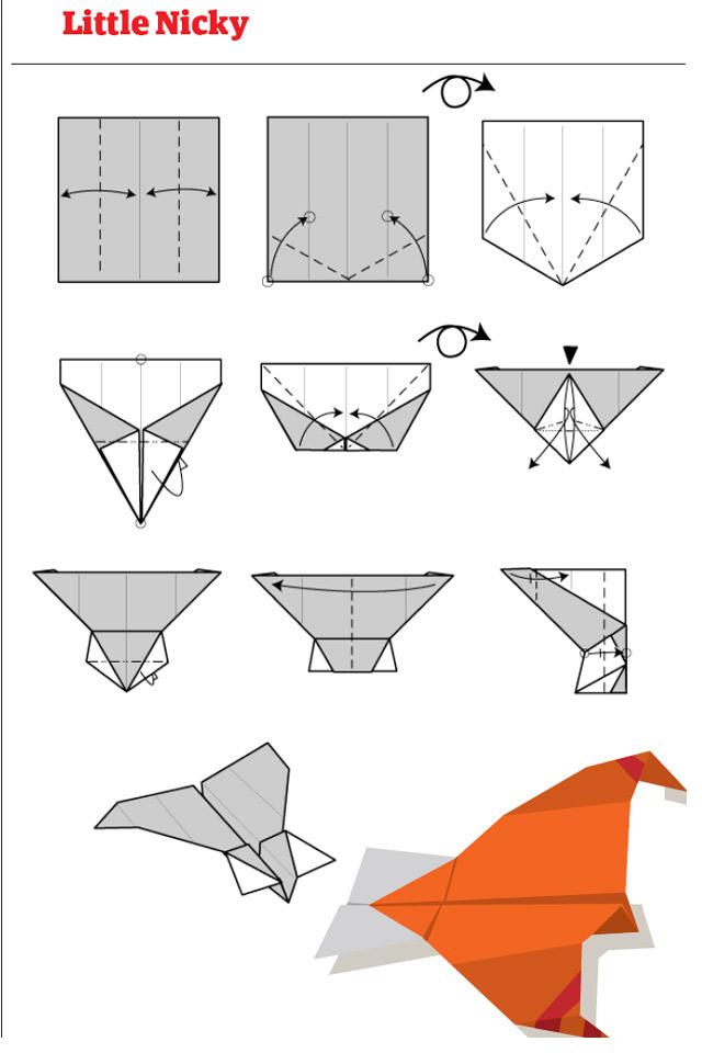 Разные самолеты из бумаги