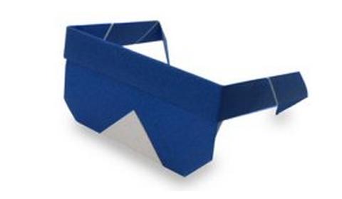 солнцезащитные очки оригами
