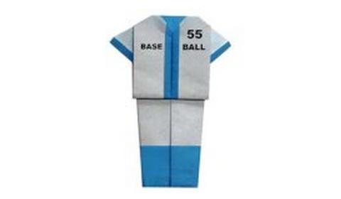 спортивные костюм оригами