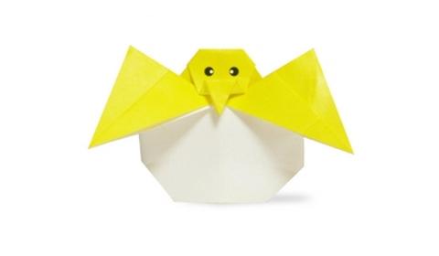 цыплёнок яйцо оригами