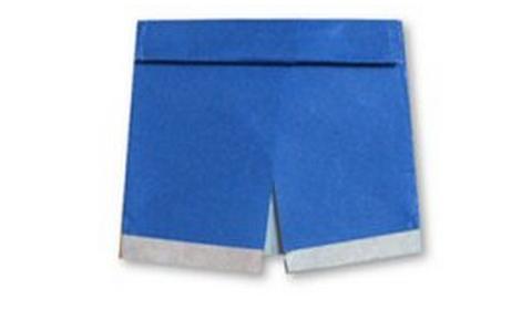 шорты оригами