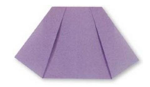 юбка оригами