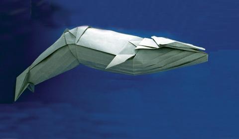Белый кит оригами