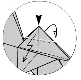 Имперский шатл оригами 15