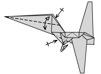 Имперский шатл оригами 20