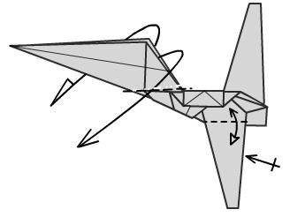 Имперский шатл оригами 21