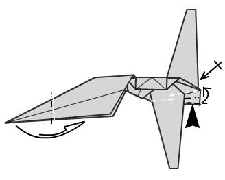 Имперский шатл оригами 22