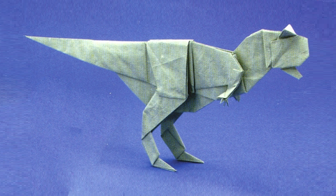 Карнотавр оригами