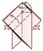 бабочка оригами 10
