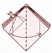 бабочка оригами 11