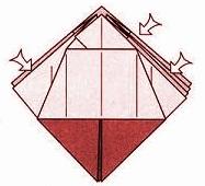бабочка оригами 12