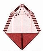 бабочка оригами 13