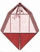 бабочка оригами 14