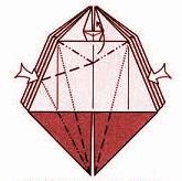 бабочка оригами 15