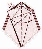 бабочка оригами 16