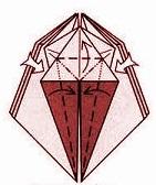 бабочка оригами 17
