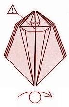 бабочка оригами 19