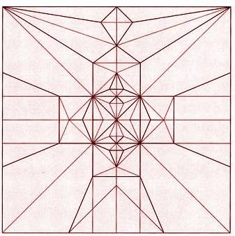 бабочка оригами 2