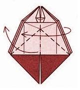 бабочка оригами 20