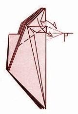 бабочка оригами 21