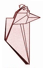бабочка оригами 22