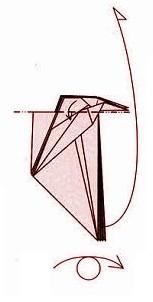 бабочка оригами 25