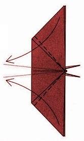 бабочка оригами 26
