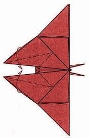 бабочка оригами 27