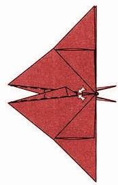 бабочка оригами 28