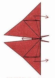 бабочка оригами 29