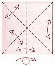 бабочка оригами 3