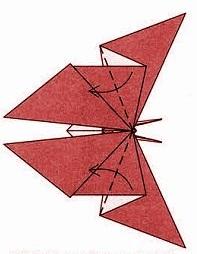 бабочка оригами 30