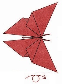бабочка оригами 31
