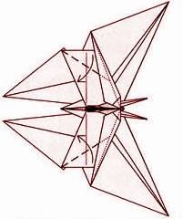 бабочка оригами 33
